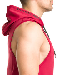 Men's I Can Performance Tech Sleeveless Hoodie