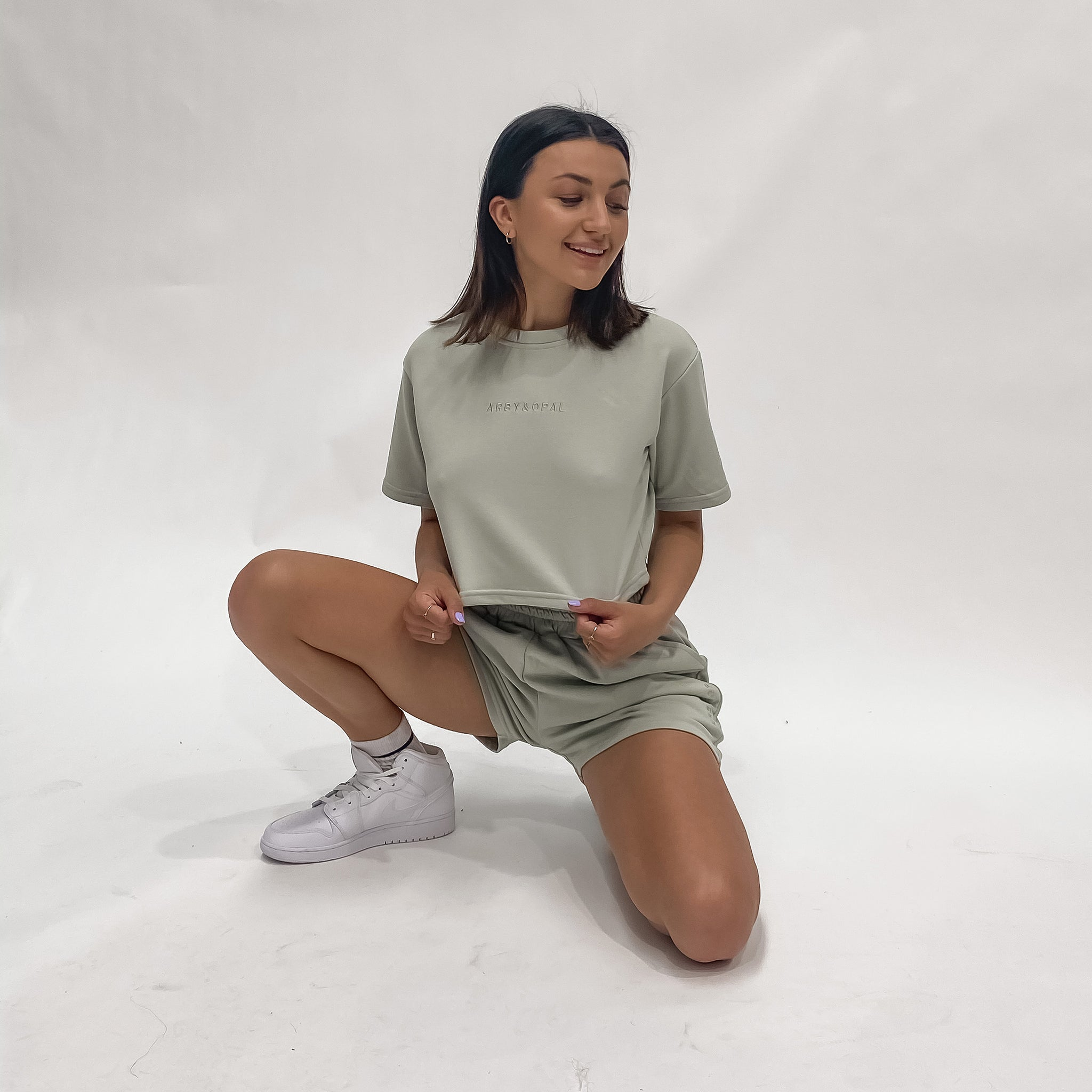 PRE-ORDER Lounge Sweat Short - Sage