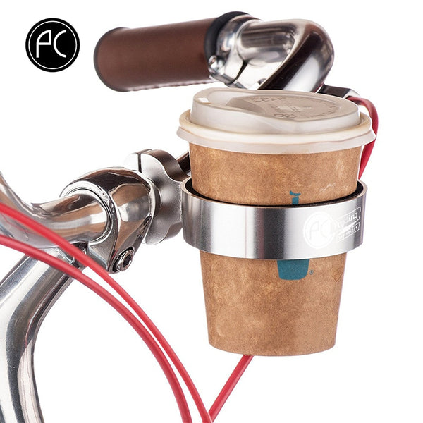 Bicycle Handlebar Coffee Cup Holder - Black