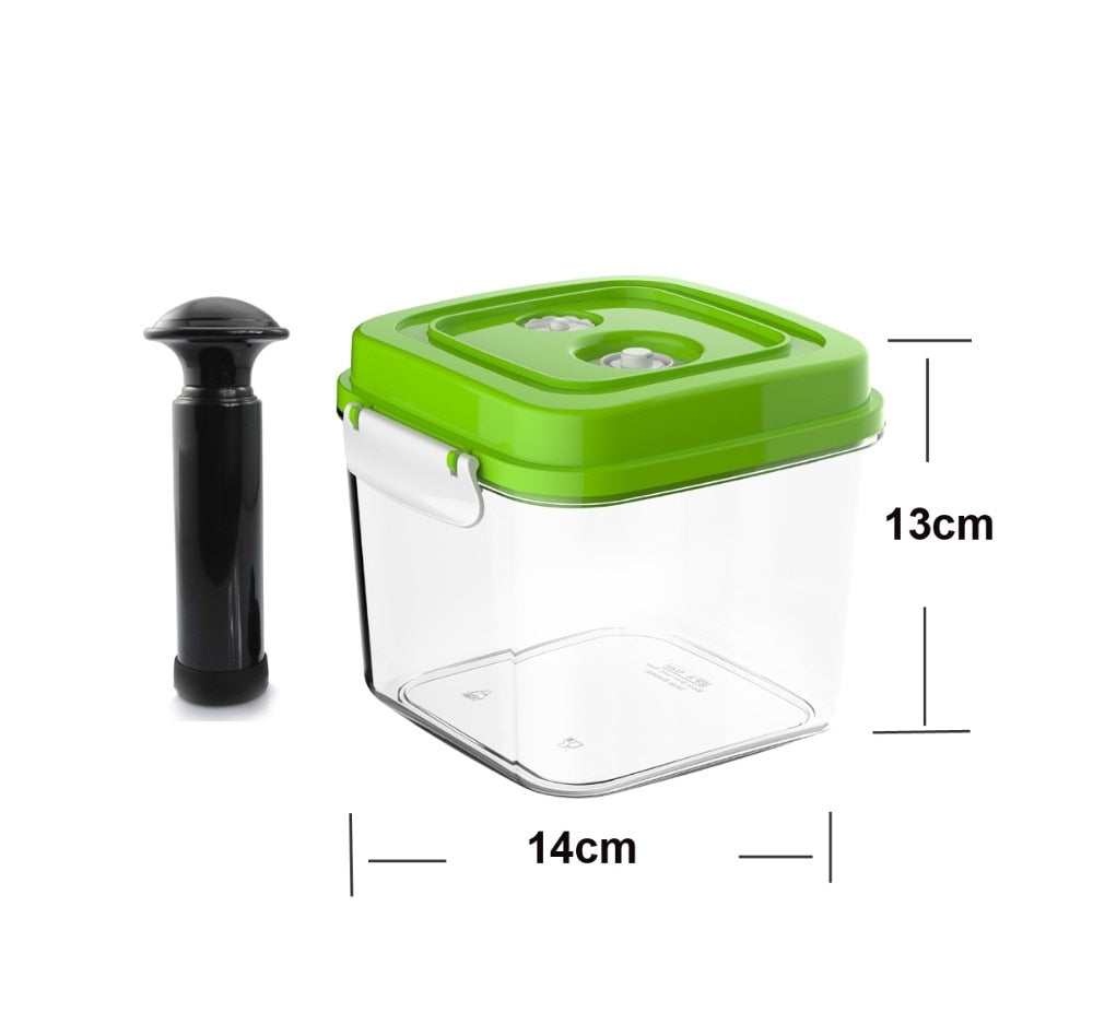Vacuum Canister for Sealer Food Container With Vacuum Pump Coffee Storage Box