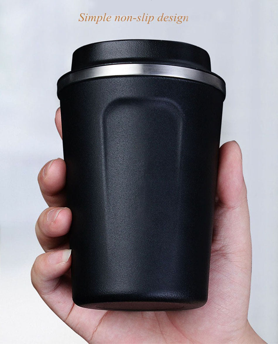 Stainless Steel Eco Friendly Travel Portable Coffee Mug