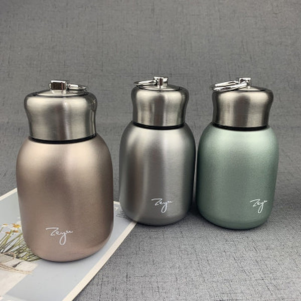 Stainless Steel Portable 300ML Thermos Tea Vacuum Flask