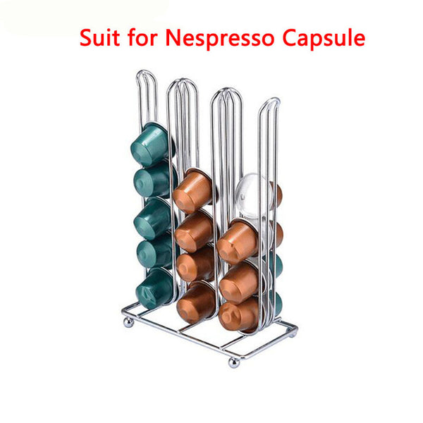 Compact  36 Count Nespresso Capsule Storage Rack (For Home and Business)
