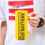 Size Matters Coffee Mug 32oz!!