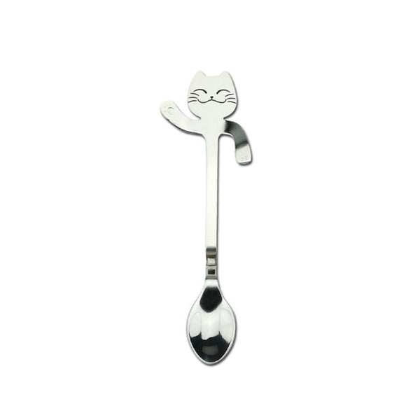 Creative Cute Cat Cartoon Coffee Spoon