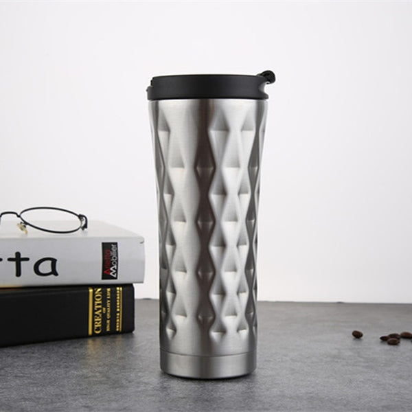 Stainless Steel Car Coffee Mug