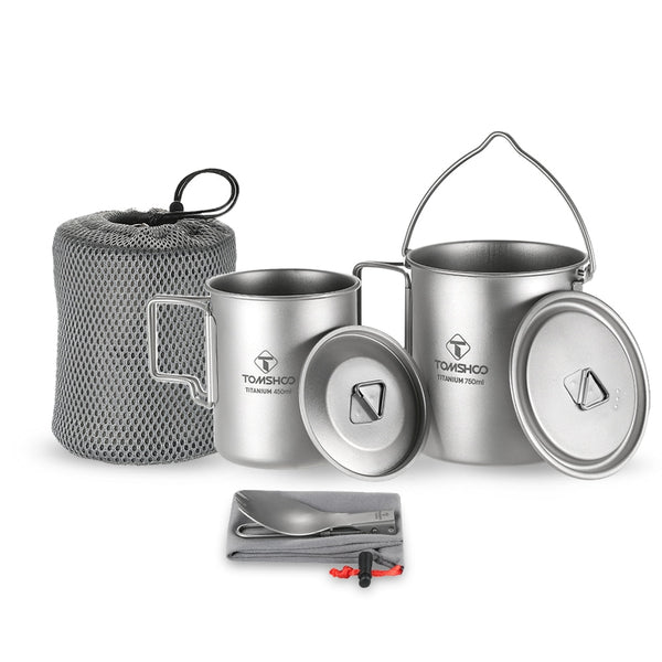 Titanium Camping Outdoor Survival Coffee Mug