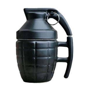 Bad Ass Grenade Coffee Mug - Black