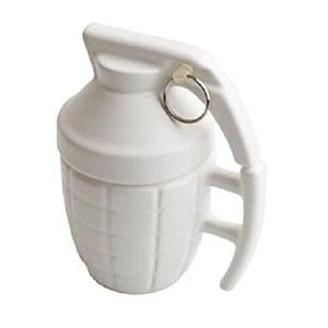 Bad Ass Grenade Coffee Mug - White