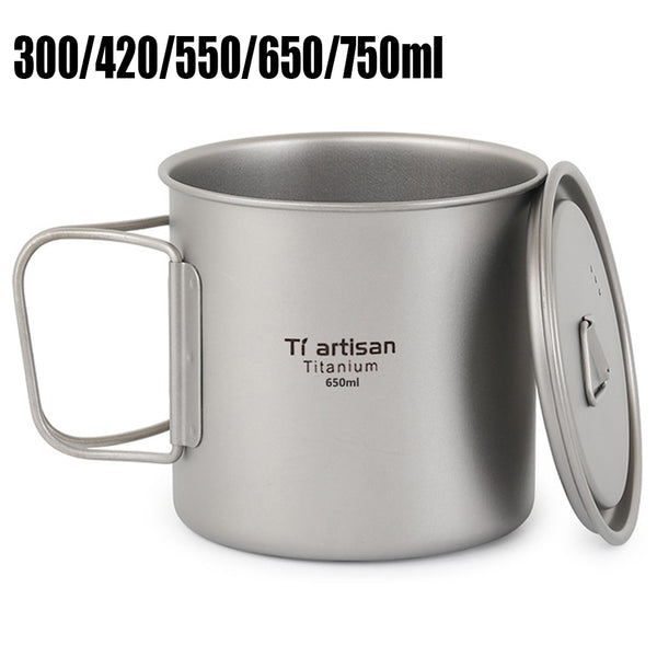 Outdoor Titanium Coffee Mug