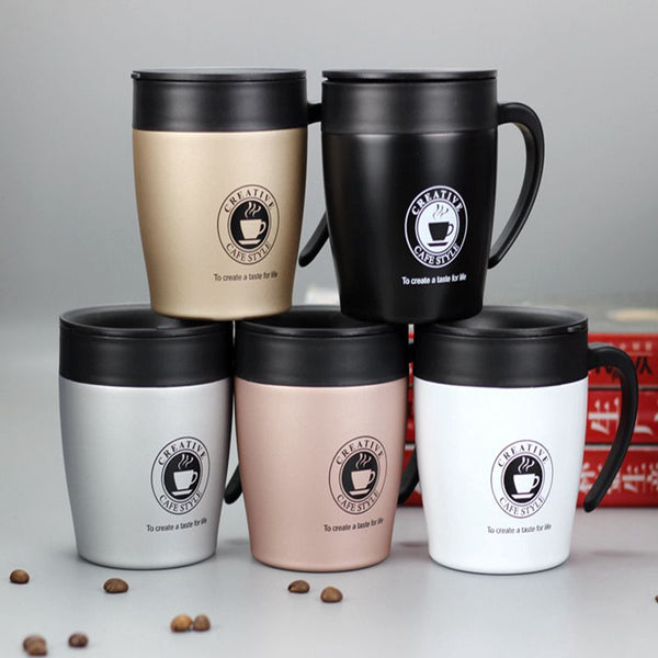 Stainless Steel Insulated 330ml Coffee Mug
