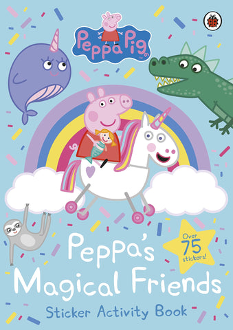 Peppa Pig: Peppa's Magical Friends Sticker Activity - Paperback