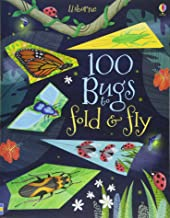 Usborne 100 Bugs to Fold and Fly - Kool Skool The Bookstore