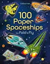 Usborne 100 Paper Spaceships to Fold and Fly - Kool Skool The Bookstore