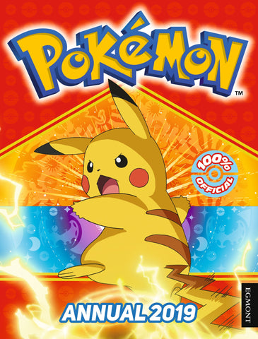 The Official Pokemon Annual 2019 - Hardback