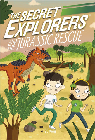 The Secret Explorers #4 :  And The Jurassic Rescue - Paperback
