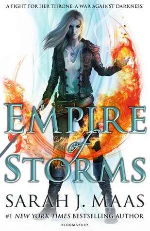 Throne Glass #5 : Empire Of Storm - Kool Skool The Bookstore