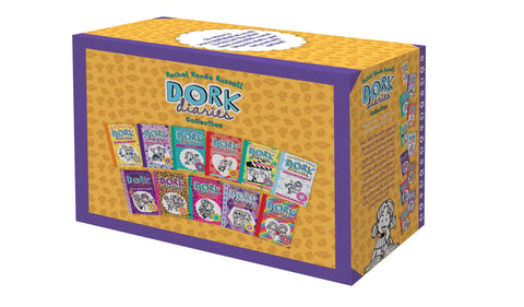 Dork Diaries x 12 2020 flex Box Set - Paperback