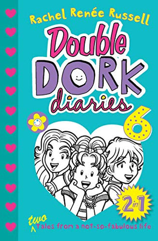 Double Dork Diaries #6: Frenemies Forever and Crush Catastrophe - Paperback