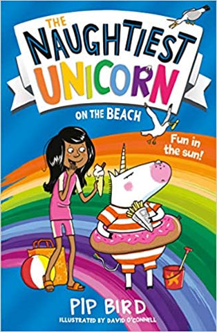 The Naughtiest Unicorn on the Beach - Paperback
