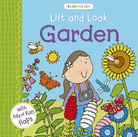 Lift and Look Garden - Board Book