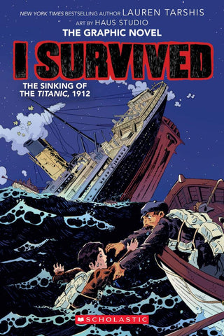 I Survived the Sinking of the Titanic, 1912  Graphix - Paperback