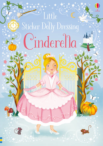 Little Sticker Dolly Dressing Fairytales Cinderella - Paperback