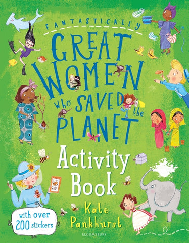 Fantastically Great Women Who Saved the Planet Activity Book  - Paperback
