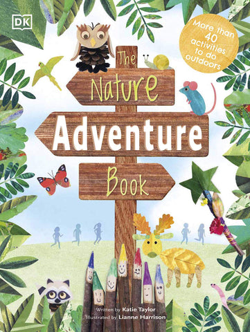 The Nature Adventure Book - Hardback