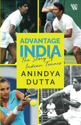 Advantage India: The Story of Indian Tennis - Paperback