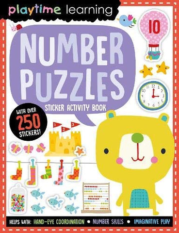 Playtime Learning Number Puzzles - Paperback