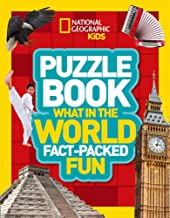 National Geographic Kids : Puzzle Book : What in the World - Paperback