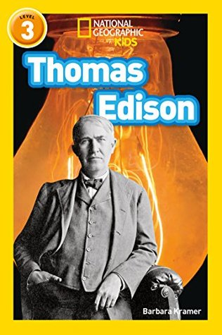 National Geographic Reader Level 3 : Thomas Edison - Paperback