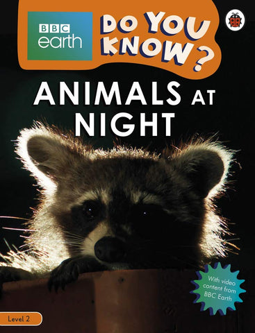 BBC Earth Do You Know? Level 2 – Animals at Night - Paperback