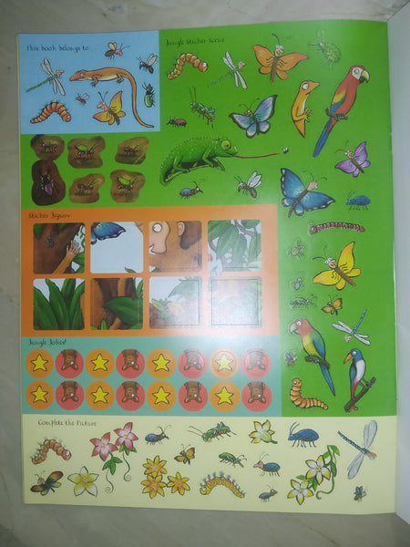 Monkey Puzzle Sticker Book - Paperback