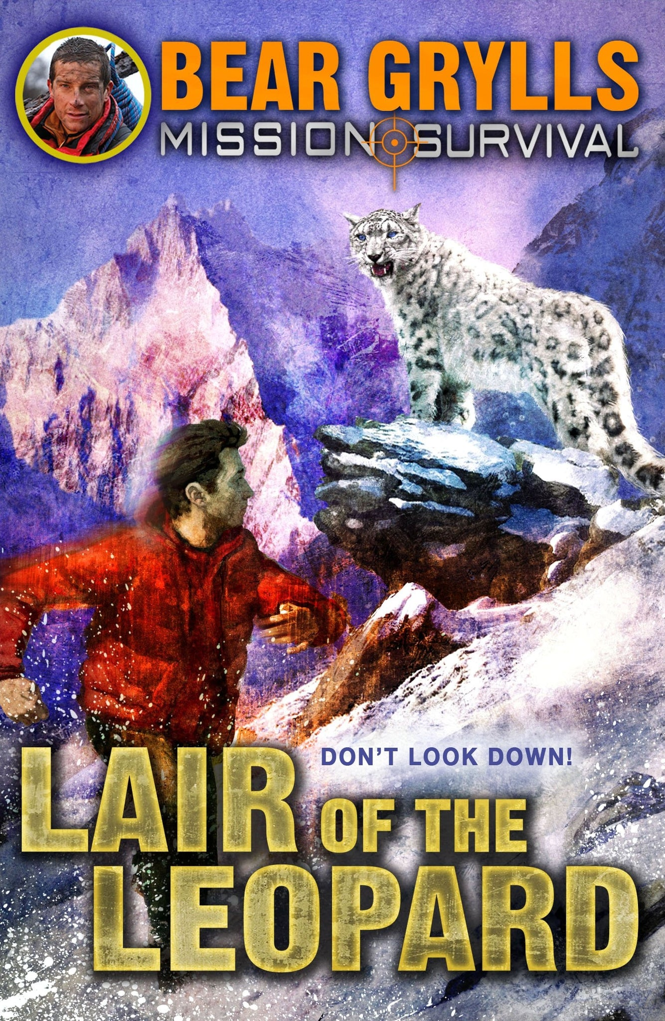 Mission Survival #8: Lair of the Leopard - Paperback