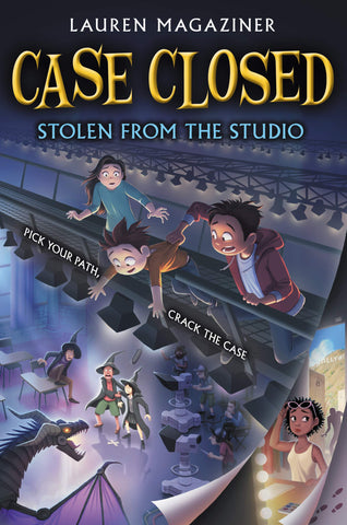 Case Closed #2: Stolen from the Studio - Paperback