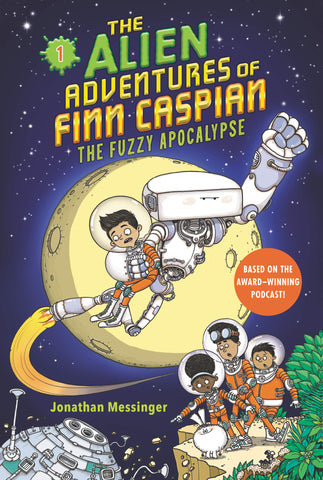 The Alien Adventures of Finn Caspian #1: The Fuzzy Apocalypse - Paperback