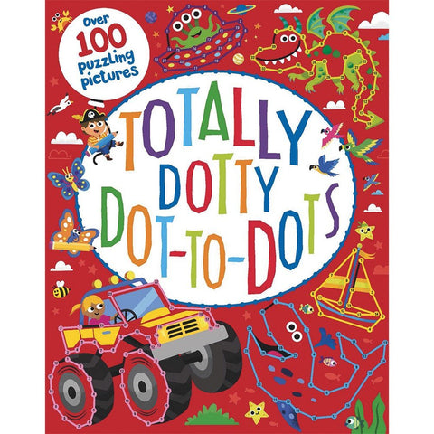 Totally Dotty Dot To Dots Puzzle Book - Paperback