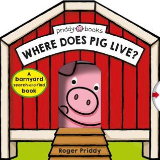Where Does Pig Live?: A Barnyard Search-And-Find Book - Board Book - Kool Skool The Bookstore