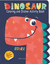 DINOSAUR COLORING AND STICKER ACTIVITY BOOK - Kool Skool The Bookstore