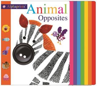 Alphaprints: Animal Opposites - Board Book - Kool Skool The Bookstore