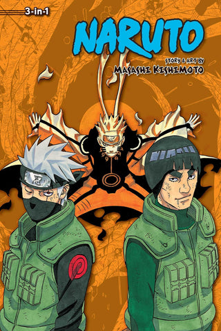 Naruto (3-in-1 Edition), Vol. 21: Includes Vols. 61, 62 & 63 - Paperback