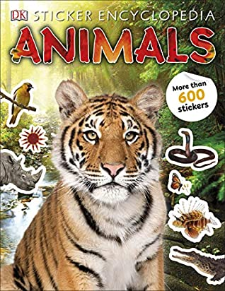 DK : Sticker Encyclopedia Animals - Paperback - Kool Skool The Bookstore
