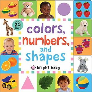 Lift-The-Flap Tab: Colors, Numbers, Shapes - Board Book - Kool Skool The Bookstore