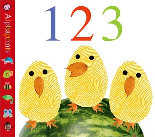 Alphaprints 123 - Board Book