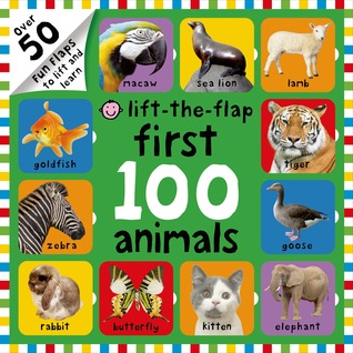 First 100 Animals Lift-The-Flap: Over 50 Fun Flaps to Lift and Learn - Board Book - Kool Skool The Bookstore