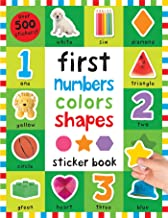 First 100 Stickers: First Numbers, Colors, Shapes - Paperback - Kool Skool The Bookstore