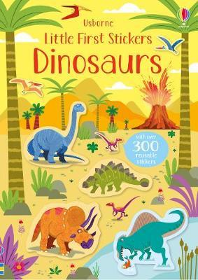 Little First Stickers Dinosaurs - Paperback