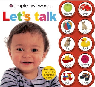 Simple First Words Let's Talk - Board Book - Kool Skool The Bookstore
